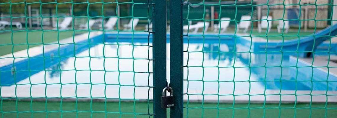 Barrière de sécurité pour piscine